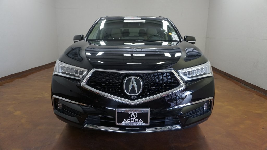 Certified Pre-Owned 2017 Acura MDX 3.5L w/Advance Package