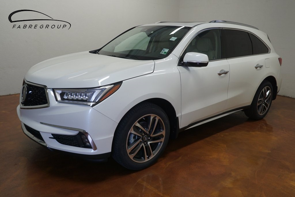 New 2017 Acura MDX w/Advance Package With Navigation & AWD