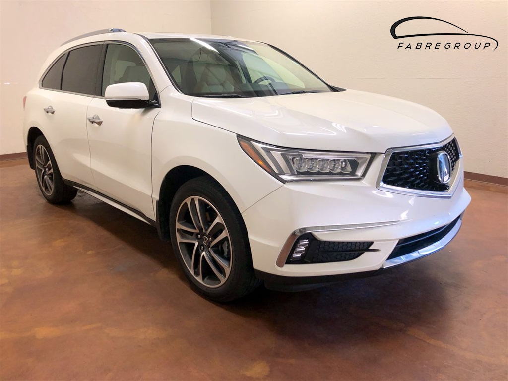 Certified Pre Owned 2017 Acura Mdx Sh Awd With Advance Package