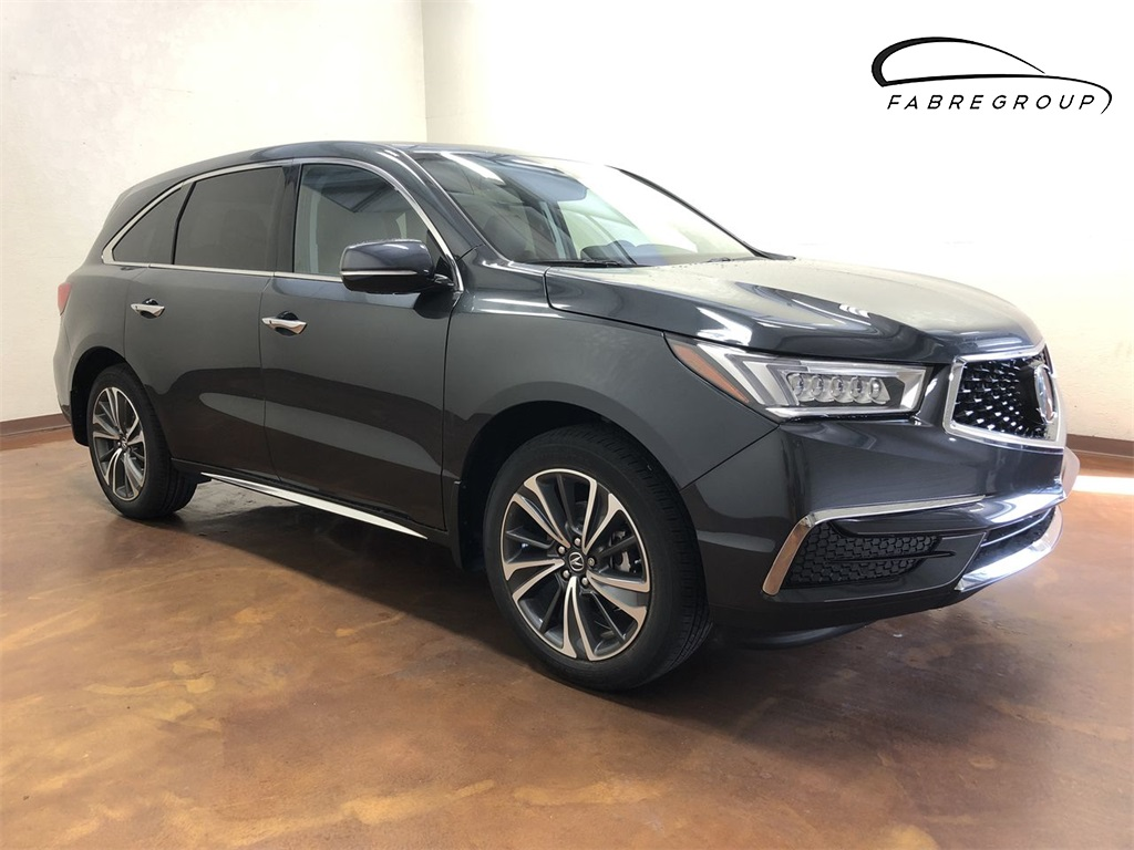 New 2019 Acura Mdx Tech 7p 4d Sport Utility In Baton Rouge 20396