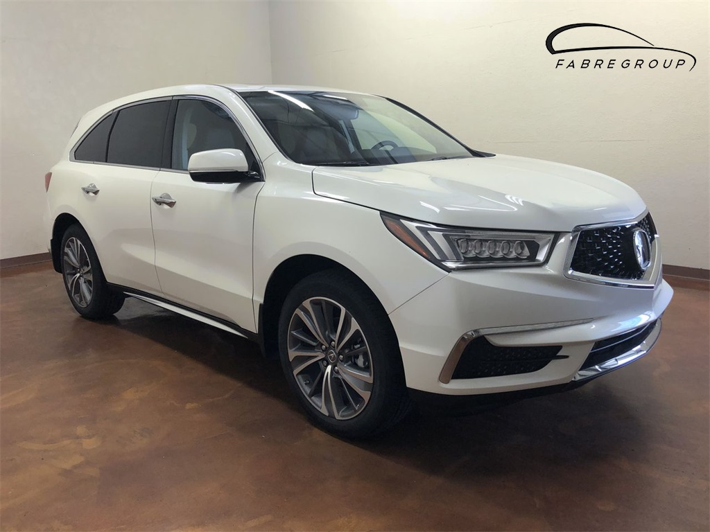 New 2018 Acura MDX with Technology and Entertainment Packages
