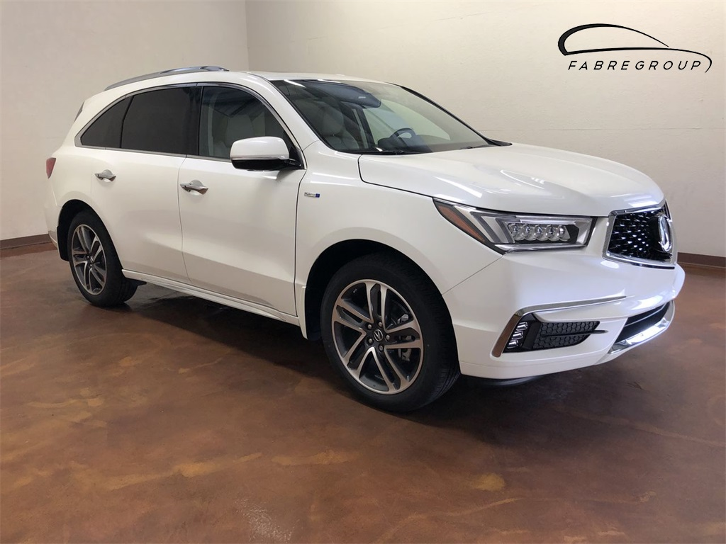 New 2019 Acura MDX Sport Hybrid with Advance Package