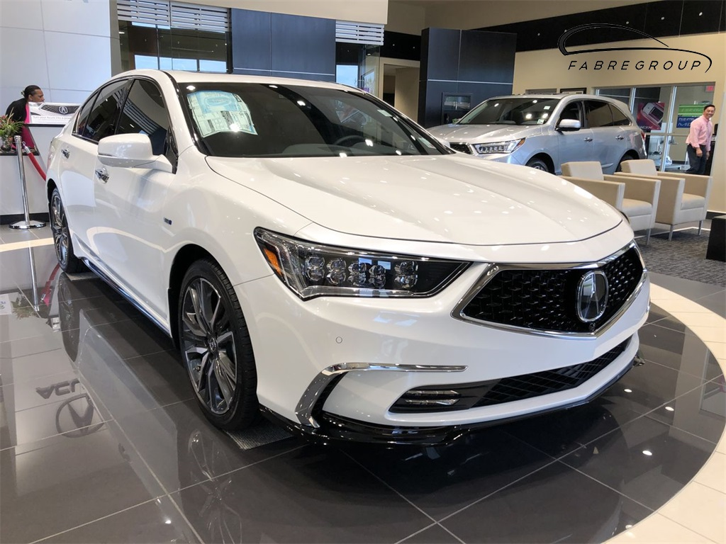 New 2018 Acura Rlx Sport Hybrid Sh Awd With Advance Package 4d Sedan In Baton Rouge 20179 Of